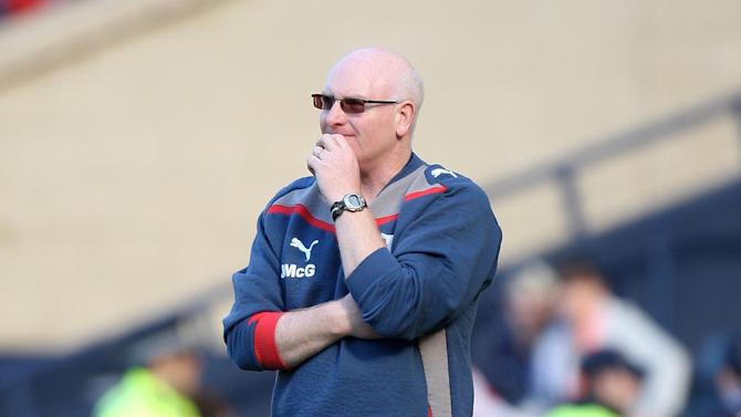 John McGlynn said he is looking forward to the challenge of managing Hearts