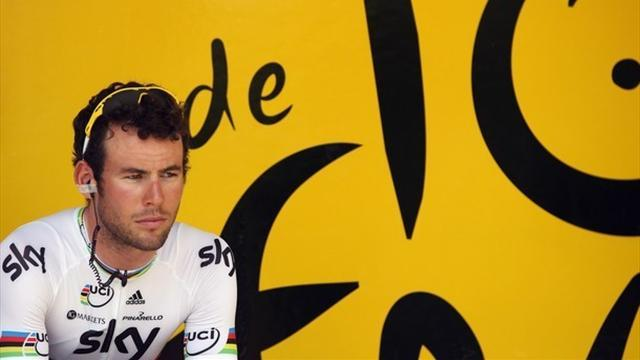 Cav crashes as Rowe wins Tour of Britain opener