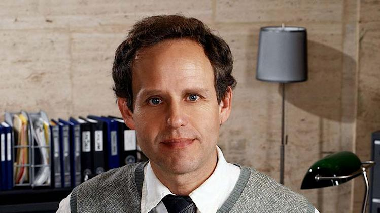 Peter MacNicol stars as Dr. Larry Fleinhardt in Numb3rs on CBS.