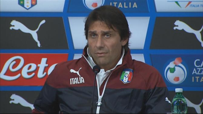 International friendlies - Playing England 'a chance for us to grow' says Italy coach Conte