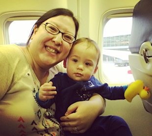 7 Travel Tips We Learned from Baby's First Plane Ride