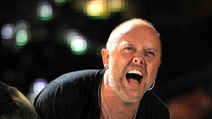 Lars Ulrich The Big Metallica Performsat Yankee Stadium
