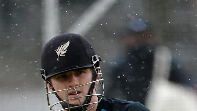 Cricket - Investec Test Series - First Test - England v New Zealand - New Zealand Nets Session - Lords