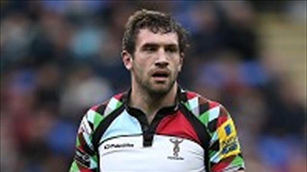 Tom Guest bagged Harlequins' only try