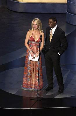 Heather Locklear and Blair Underwood Presenters for Outstanding Supporting Actor in a Drama Series Emmy Awards - 9/19/2004