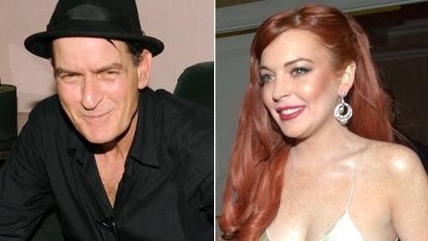 Charlie Sheen Says Lindsay Lohan Never Thanked Him for Handout