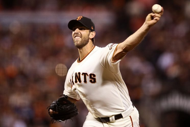 Madison Bumgarner tops all Giants in fantasy value (Getty Images)