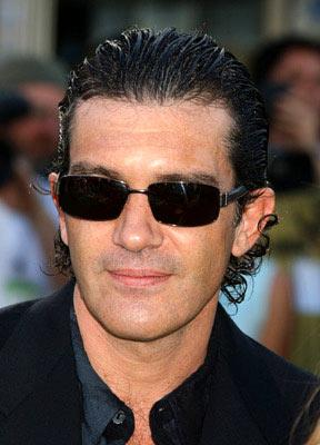 Antonio Banderas at the L.A. premiere of Dreamworks' Shrek 2