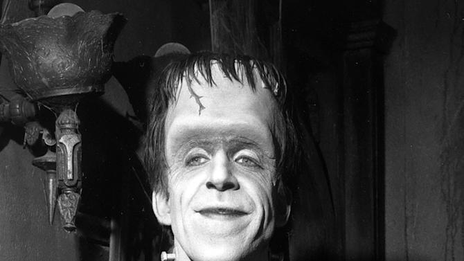 """The Munsters"" Herman Munster (Fred Gwynne)"