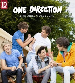 PHOTO: One Direction Unveil 'Live While We're Young' Artwork