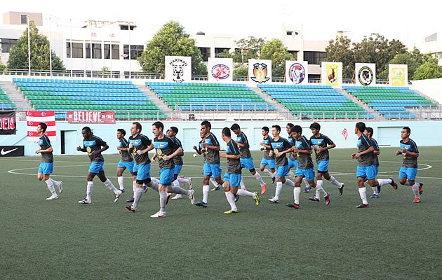 The Lions are hoping to maintain their eight-year unbeaten run against Malaysia (photo courtesy of FAS)