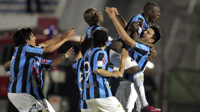 South American Football - New Peru side Garcilaso shock Nacional in Libertadores