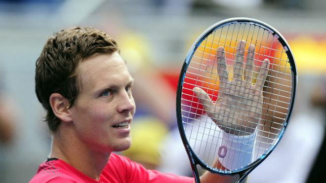 Czech Tomas Berdych Celebrates AFP/Getty Images