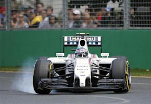 Williams Formula One driver Valtteri Bottas of Finland drives during the Australian F1 Grand Prix at the Albert Park circuit in Melbourne March 16, 2014. REUTERS/Brandon Malone