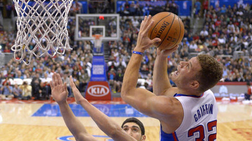 Crawford, Griffin power Clippers over Jazz 102-87