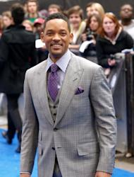 Will Smith attends the UK premiere of 'Men in Black III,' Leicester Square, London, May 16, 2012 -- AFP