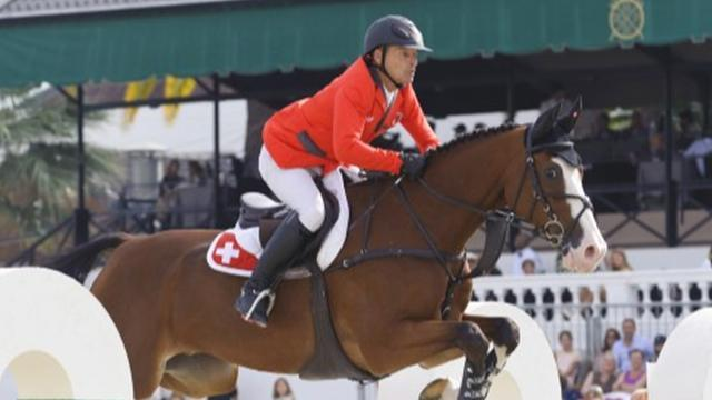 Equestrian - Schwizer claims Swiss leg of World Cup qualifying