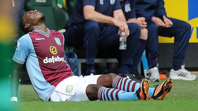 League Cup - Benteke to miss Spurs game as Villa's injuries mount