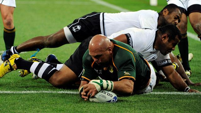 Rugby - Springboks make two changes for Scotland