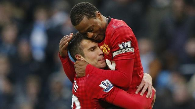 Premier League - Evra: Van Persie right to quit Arsenal, fans should understand
