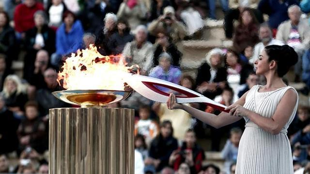Olympic Games - Olympic flame in Russia for epic trip to Sochi Games