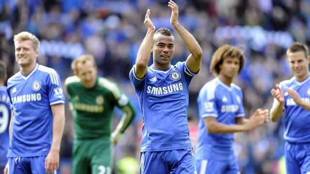 Premier League - Cole bids farewell to Chelsea
