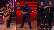 Cheryl Burke and William Levy; Peta Murgatroyd and Donald Driver; Katherine Jenkins and Mark Ballas on 'Dancing,' May 21, 2012 -- ABC