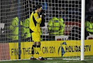 Liverpool's Australian goalkeeper Brad Jones had a torrid time in the FA Cup at Oldham Athletic on January 27, 2013. Liverpool boss Brendan Rodgers named fringe players including Jones in his starting XI at Boundary Park, but the plan back-fired