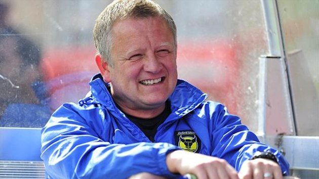 Oxford manger Chris Wilder (PA Photos)