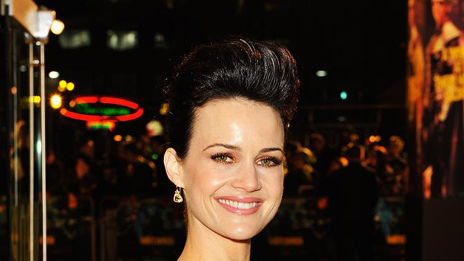 Watchmen UK Premiere 2009 Carla Gugino