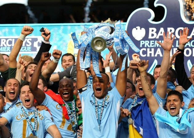 Manchester City won the title on the final day last season (Getty Images)