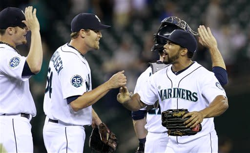 Mariners win 7th straight, 5-3 over Blue Jays