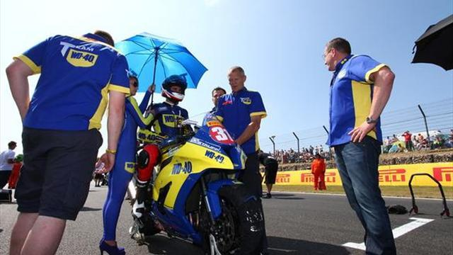 Superbikes - Cadwell BSB: Aquino takes debut Stock 1000 win