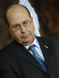 "But Israeli Vice Prime Minister Moshe Yaalon, pictured in 2011, said there was little sign that the existing sanctions was pushing Iran any closer to abandoning its plans. ""Iran is laughing all the way to the bomb,"" he said. ""There is no sign that it feels threatened."""