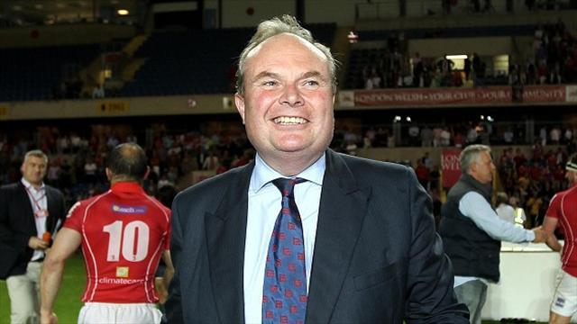 Rugby - Phillips allays London Welsh fears