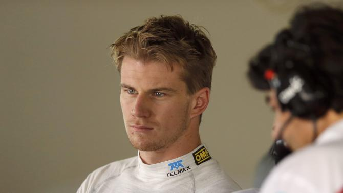 Sauber Formula One driver Hulkenberg of Germany attends the first practice session of the Japanese F1 Grand Prix at the Suzuka circuit