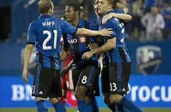 Montreal Impact 2-1 D.C. United: Di Vaio double gives Impact three points