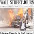 'Baltimore Is Burning': Media Reacts to Violent Riots in Reaction to Freddie Gray's Death