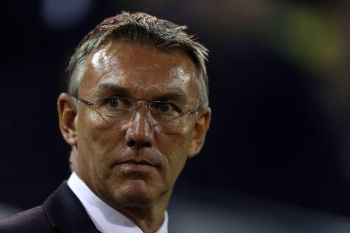 Nigel Adkins, pictured, was unhappy with the performance of Mark Clattenburg against Norwich