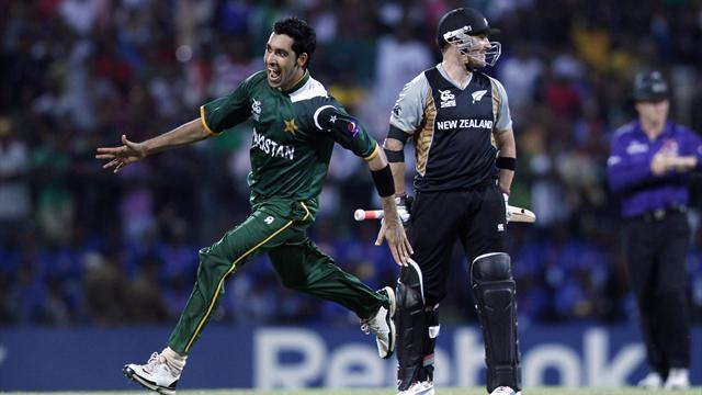 Pakistan beat New Zealand in T20 World Cup