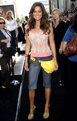 Brooke Burke at the Hollywood premiere of Warner Bros. Pictures' Batman Begins