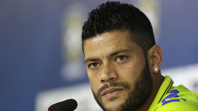 Brazil without Hulk for match against Mexico