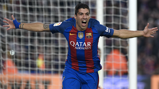 Barcelona were the better team in El Clasico, says Suarez