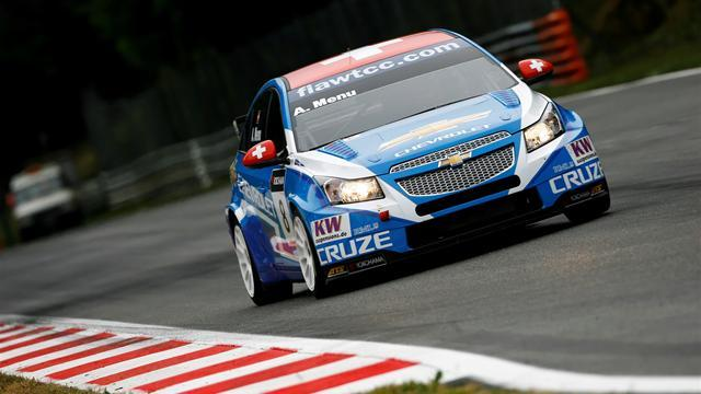 Menu pips Tarquini for WTCC pole in Sonoma