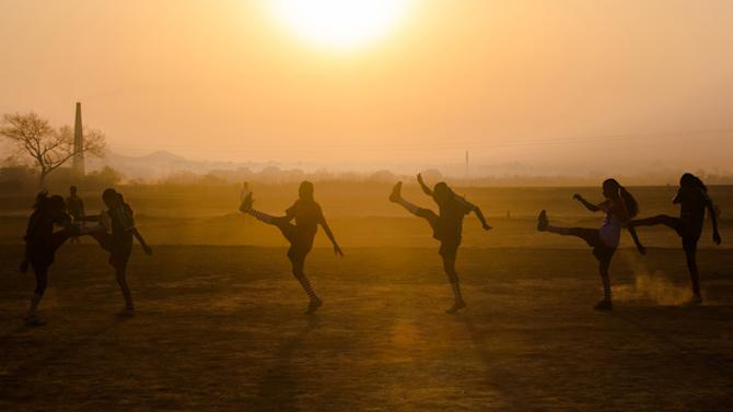 Five National level women footballers forced to work as agricultural labourers