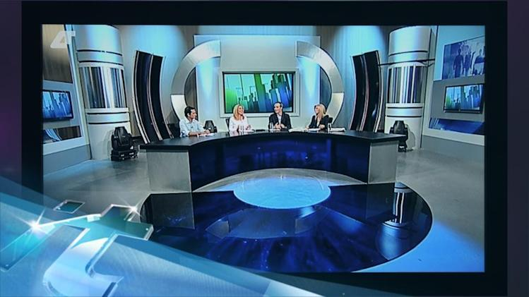 New Greek Public Broadcaster Begins Airing News Shows