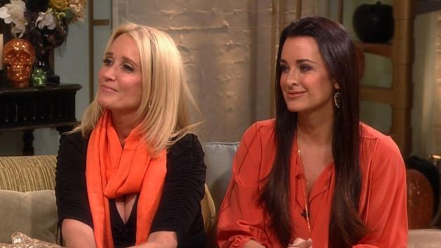 'The Real Housewives of Beverly Hills' stars Kyle and Kim Richards stopped by Access Hollywood Live on October 31, 2012 -- Access Hollywood
