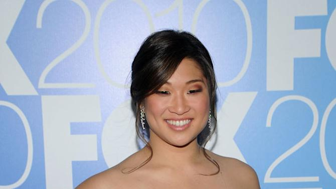 """Jenna Ushkowitz (""""Glee"""") attends the 2010 Fox Upfront after party at Wollman Rink, Central Park on May 17, 2010 in New York City."""