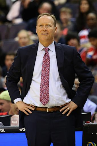 Atlanta's Mike Budenholzer voted NBA coach of the year