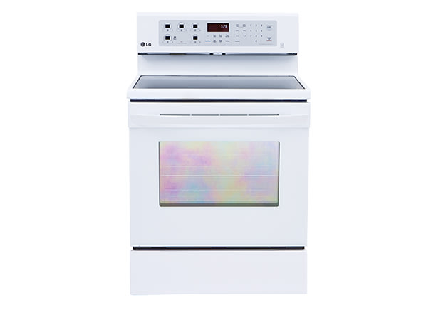 Consumer Gas Stove Electric Oven ~ Smoothtop single oven
